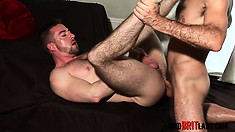 Muscled studs Craig Daniel and Scott Hunter fulfill each other's needs
