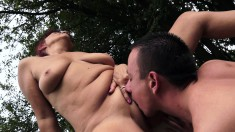 Lustful Soccer Mom Seduces A Younger Guy To Drill Her Snatch Outside