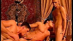 Even the beefcake gay princes get horny and need hardcore action