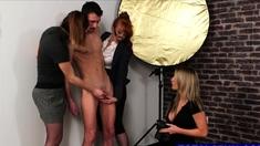 Hot Models Sucking Photographer's Cock