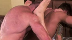 Peter Axel, Greg York and Chris Kohl hook up for a fabulous threesome