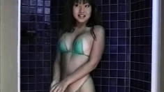 Sexy Japanese girl Nina is outside in some hot posing of her wicked body