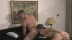 Hunky Logan Cox Has A Great Time Banging Seductive Sky Thompson