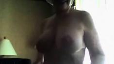 Granny tries Webcam
