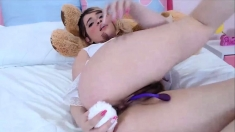Eighteen Years Old Teen W Hairy Pussy And Cutest Baby Face