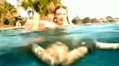 Busty Underwater