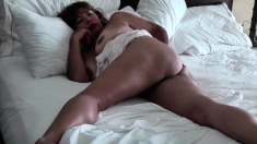 Relaxing And Provocative In Bed