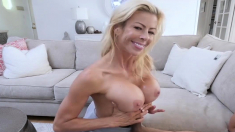 Neglected Mature Stepmother Fucks Me During Movie Night