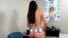XXX CUSTOMS - Teen Smuggler Stripped Naked and Fucked