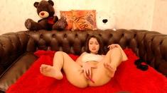Cute horny Teen Webcam Fingering