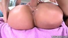 The hot milf relishes that hot sexual adventure and has him filling her cunt with cum